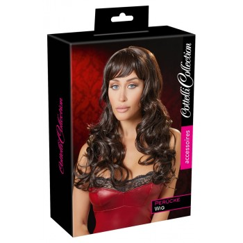Long Dark Brown Wig