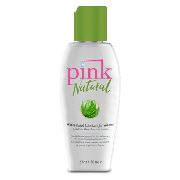 Pink - Natural Water Based Lubricant 80 ml