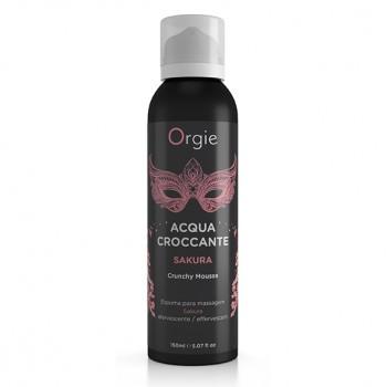 Orgie - Acqua Croccante Crunchy Mousse Sakura 150 ml