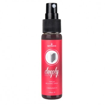 Sensuva - Throat Relaxing Spray Cinnamon