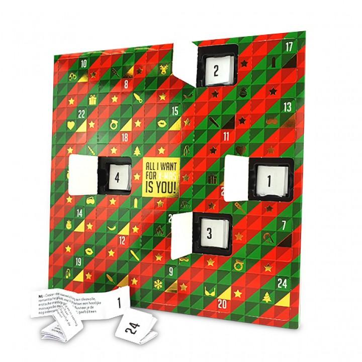 Erotic Advent Calendar (NL-DE-EN-FR-ES-IT-PL-RU-SE-NO) - tease & please