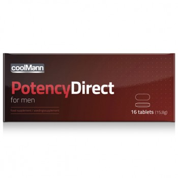 CoolMann - Male Potency Direct 16 Tabs