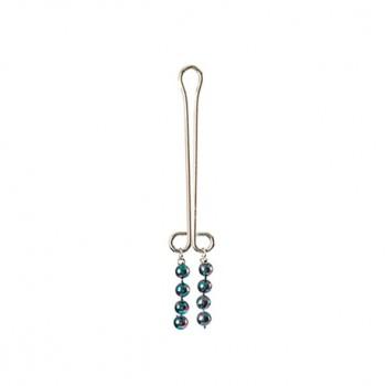Clitoral Jewelry - Pearl Metallic