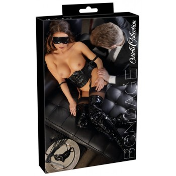 Waist Cincher and Blindfold L