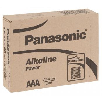 Battery Panasonic AAA 12x4