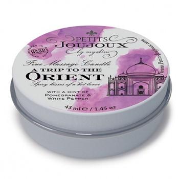Petits Joujoux - Massage Candle Orient 33 gram