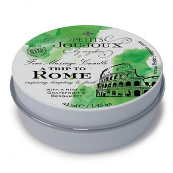 Petits Joujoux - Massage Candle Rome 33 gram