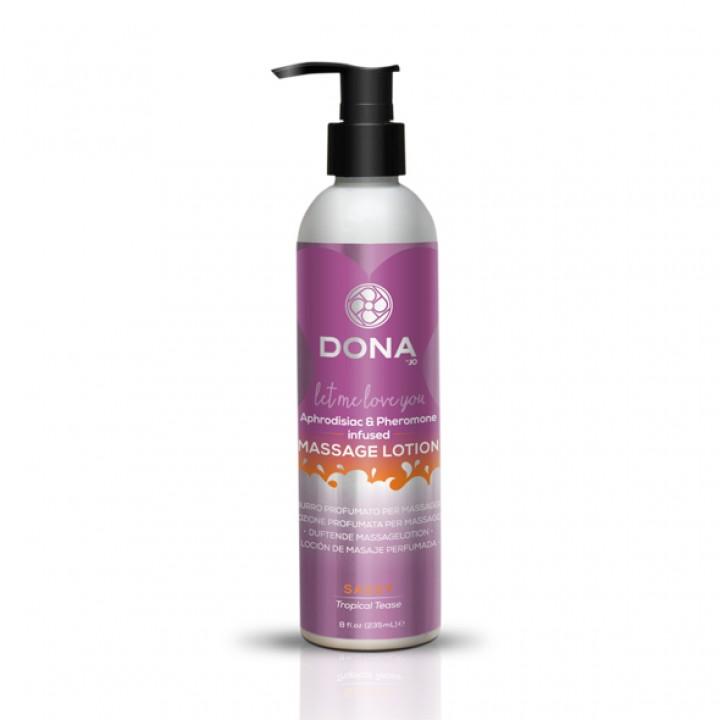 Masāžas losjons Dona Tropical Tease (235 ml) - Dona - Massage Lotion Tropical Tease 250 ml - Dona