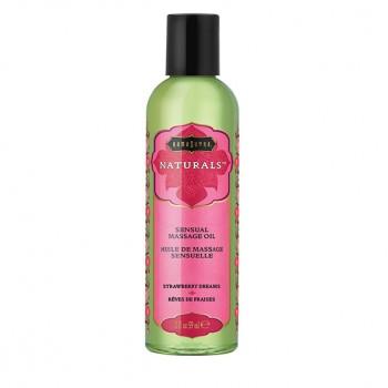 Kama Sutra - Naturals Massage Oil Strawberry Dreams 59 ml