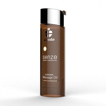 Swede - Senze Massage Oil Vanilla Sandalwood 150 ml