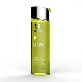 Swede - Senze Massage Oil Lemon Pepper Eucalyptus 75 ml