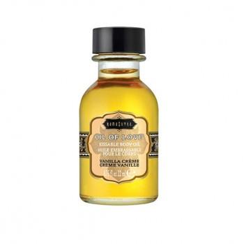 Kama Sutra - Oil of Love Kissable Body Oil Vanilla Creme 22 ml