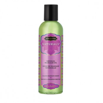 Kama Sutra - Naturals Massage Oil Island Passion Berry 59 ml