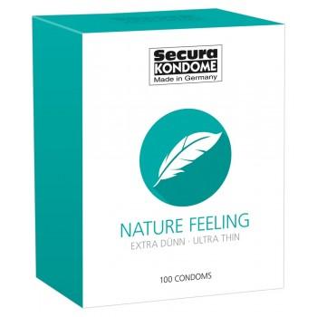 Prezervatīvi Secura Nature Feeling (100 gab.) - Secura Nature Feeling x 100