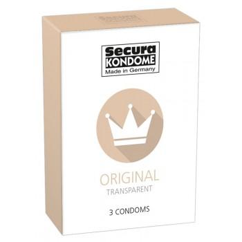 Prezervatīvi Secura Original (3 gab.) - Secura Original x 3
