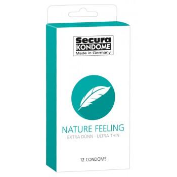 Prezervatīvi Secura Nature Feeling (12 gab.) - Secura Nature Feeling x 12