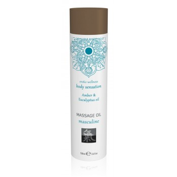 Massage Oil Masculine Amber