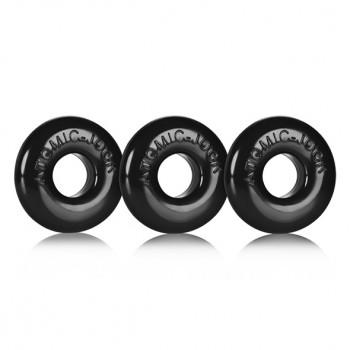 Oxballs - Ringer of Do-Nut 1 3-pack Black
