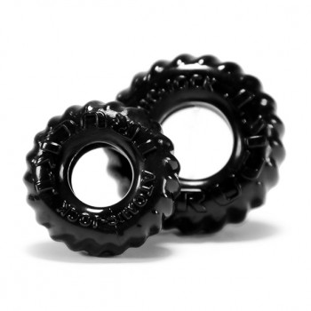 Oxballs - Truckt Cockring 2-pack Black