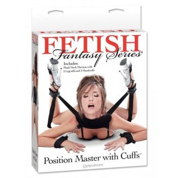 Kakla, Roku,Kāju sasaistes komplekts Fetish Fantasy Series