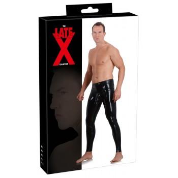 Men's Latex Leggings Sleeve S