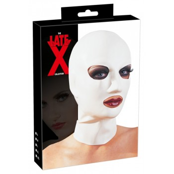 Maska Kaisles zibsnis (balta) - Lx Head Mask White