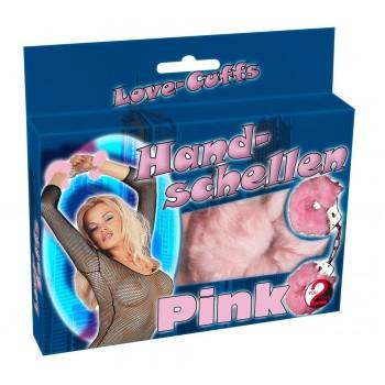 Roku dzelži ar rozā pūku You2Toys