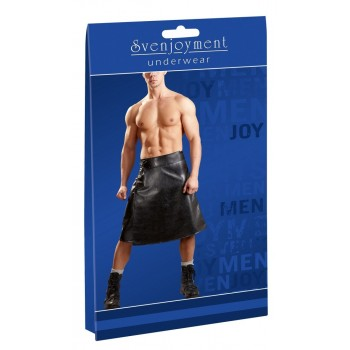 M. Imitation Leather Skirt XL