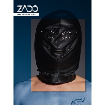 Leather Isolation Mask