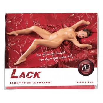 Red Vinyl Sheet