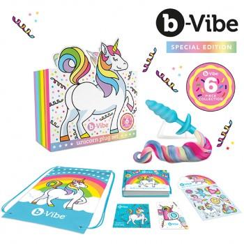 B-Vibe - Unicorn Plug Set 6 Piece Collection