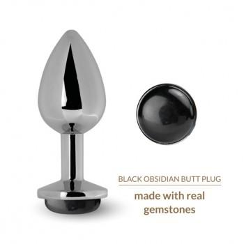 La Gemmes - Butt Plug Black Obsidian
