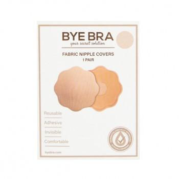 Bye Bra - Fabric Nipple Covers Nude 1 Pair