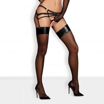 Obsessive - Darkie Stockings Black S/M