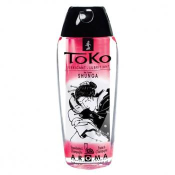 Shunga - Toko Lubricant Strawberry & Champagne