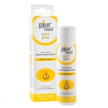 Smērviela Pjur Med Soft (100 ml) - Pjur - MED Soft Glide Silicone Based Personal Lubricant 100 ml