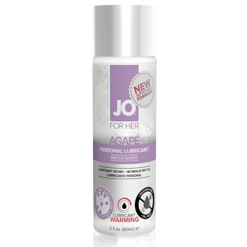 System JO - For Her Agape Lubricant Warming 60 ml