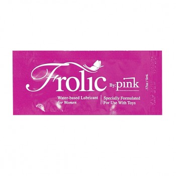 Pink - Frolic Water Based Lubricant 5 ml