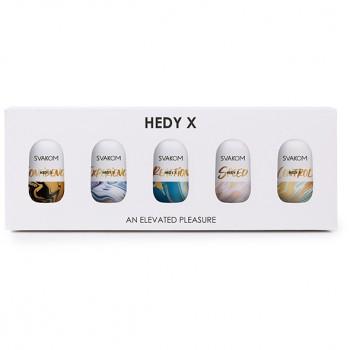 Svakom - Hedy X Masturbator 5-pack Mixed Textures