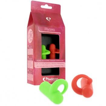 FeelzToys - Mycero Finger Fun Green Red